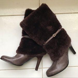 Lauren Ralph Lauren faux fur boots